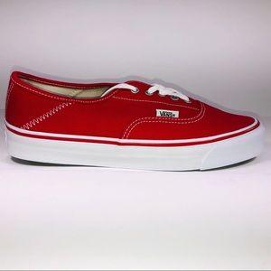 VANS Alyx OG Style 43 LX True Red & White Sneakers